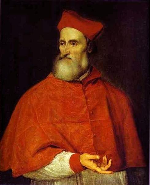 Portrait of Pietro Bembo, c.1540 - Titian