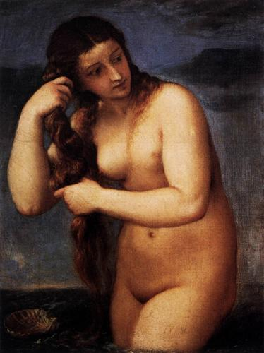 Venus Anadyomene by Titian