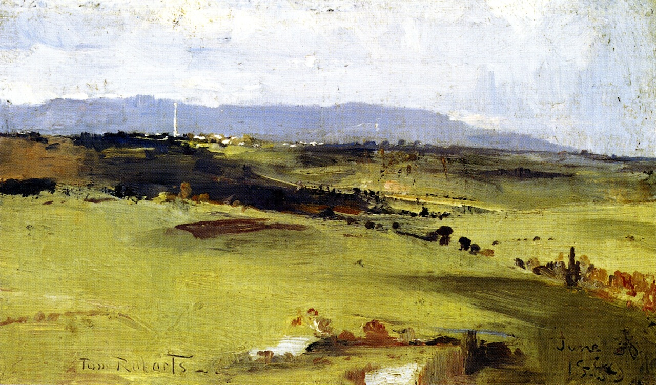 Across to the Dandenongs, 1889
