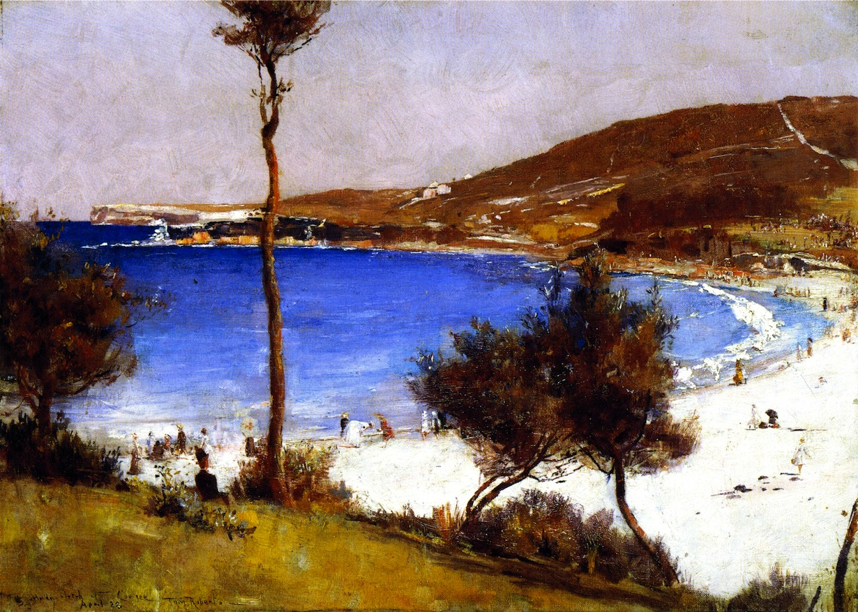 Holiday Sketch at Coogee, 1888