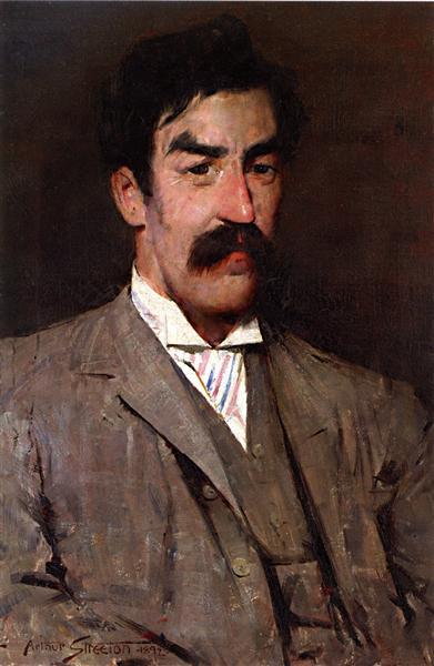 Professor Marshall-Hall, 1892 - Tom Roberts