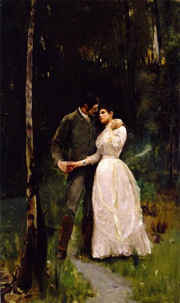Reconciliation, 1887 - Том Робертс