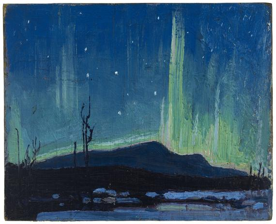 Northern Lights, 1917 - Tom Thomson