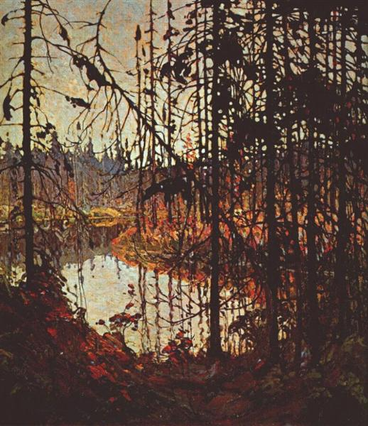Northern River, 1915 - Tom Thomson
