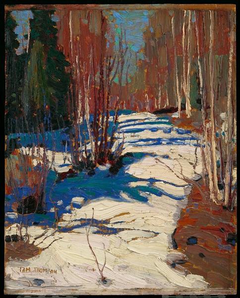 Path Behind Mowat Lodge, 1917 - Tom Thomson