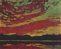 Sunset - Tom Thomson