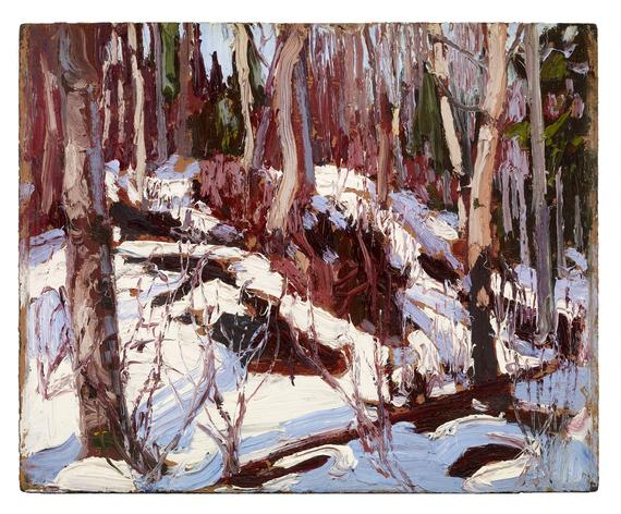 Winter Thaw in the Woods, 1917 - Tom Thomson