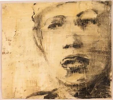 Untitled (Head), 1989 - Tony Scherman