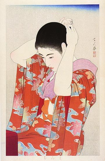Autumn Leaves, 1934 - Torii Kotondo