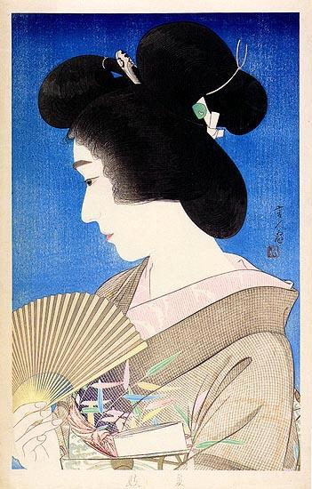 Summer Geisha, 1934 - Torii Kotondo