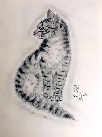Tsuguharu foujita a book of cats