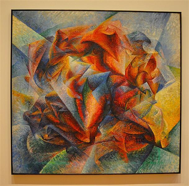 Dynamism of a Soccer Player, 1913 - Umberto Boccioni