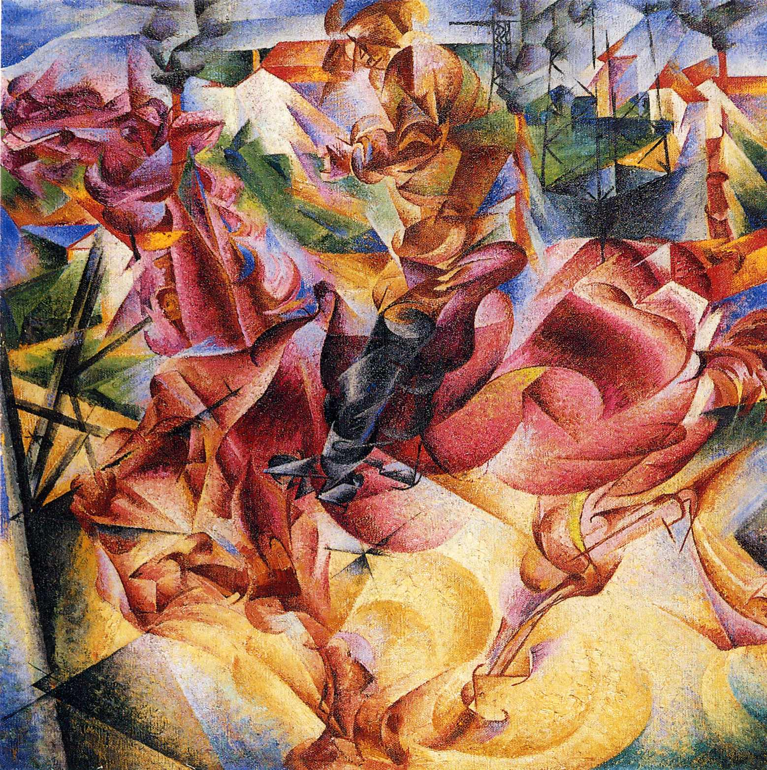 Umberto Boccioni Famous Paintings