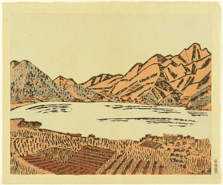 Landscape, 1940 - Unichi Hiratsuka