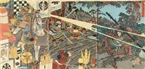 Prince Shôtoku - Utagawa Kuniyoshi