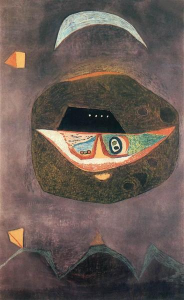 Mask with Moon, 1938 - Vajda Lajos