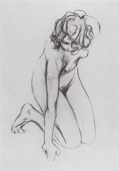 Naked woman, 1910 - Valentin Serov