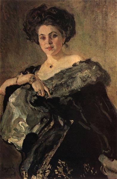Portrait of Yevdokia Morozova, 1908 - Valentin Serov
