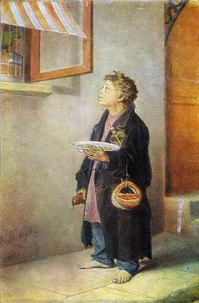 Boy-craftsman, 1865 - Vasily Perov