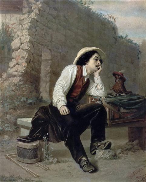Organ Grinder, 1863 - Vasily Perov