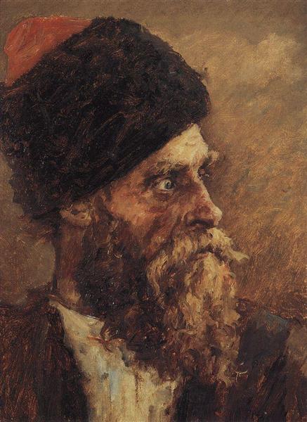 Cossack Dmitry Sokol, 1893 - Vasily Surikov