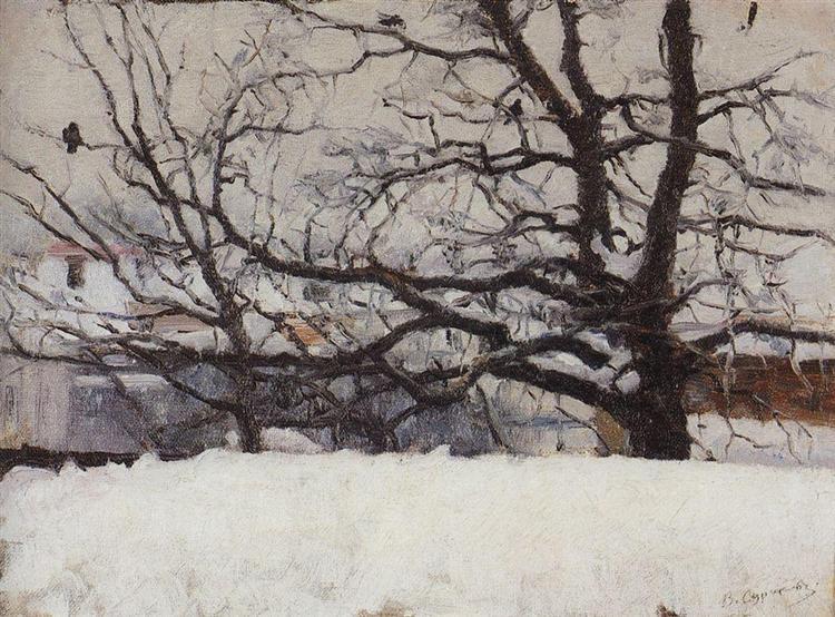 Winter in Moscow, c.1885 - Vasily Surikov