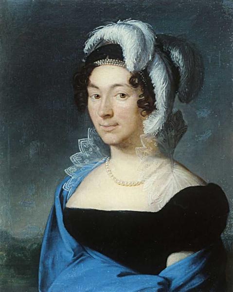 Portrait Botsigetti, 1818 - Vasily Tropinin