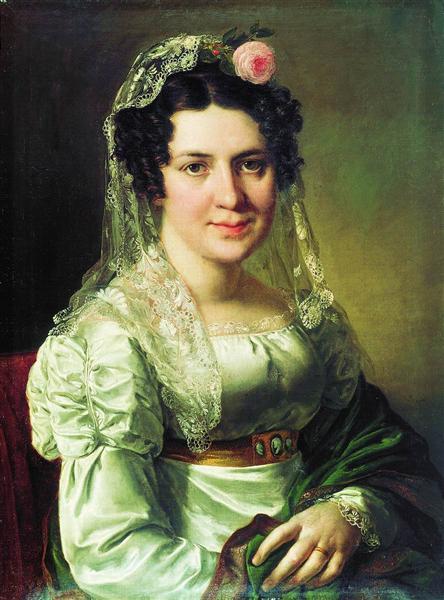Yelena Schepkin - Vasily Tropinin