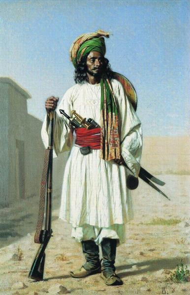 Afghan, 1867 - 1868 - Vasily Vereshchagin