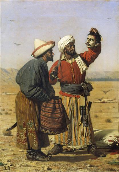 After good luck, 1868 - Vasili Vereshchaguin