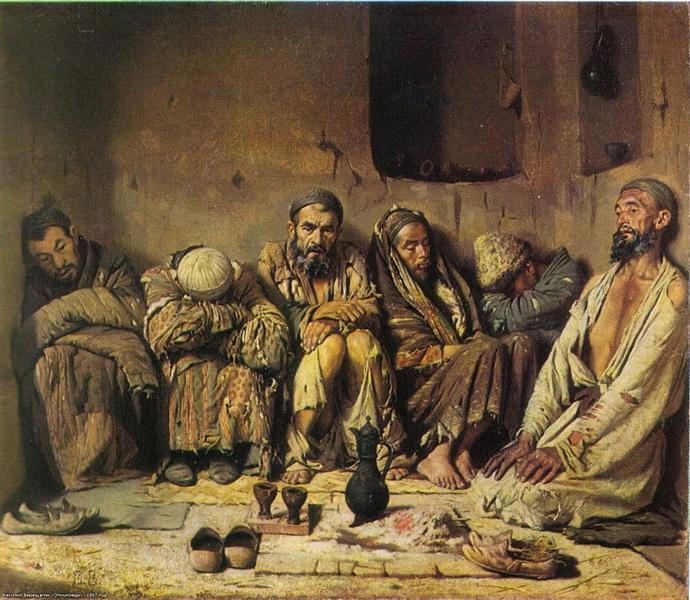 Опіумоїди, 1868 - Василь Верещагін