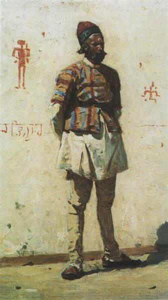 Indian, 1873 - Vasily Vasilievich Verechagine
