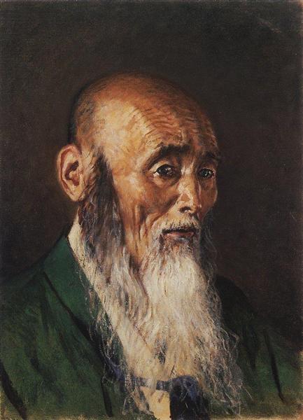 Japanese Priest, 1903 - 1904 - Vasily Vereshchagin