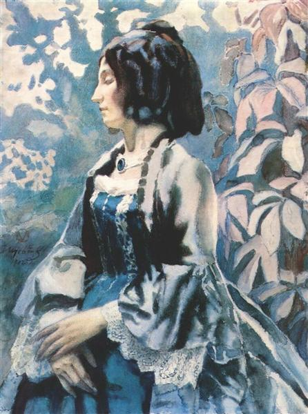 Lady in Blue, 1902 - Victor Borisov-Musatov