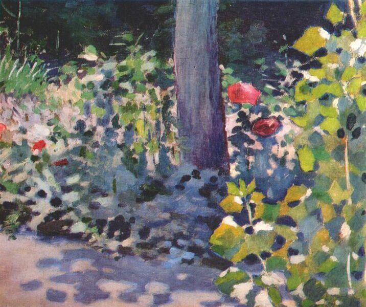 Poppies in the Garden, 1894 - Victor Borisov-Musatov