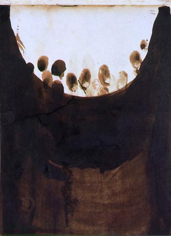 Taches with fingerprints, 1865 - Victor Hugo