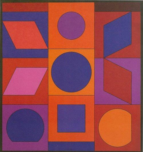 Alphabet VR, 1960 - Victor Vasarely