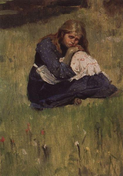 Alenushka, 1881 - Viktor Vasnetsov