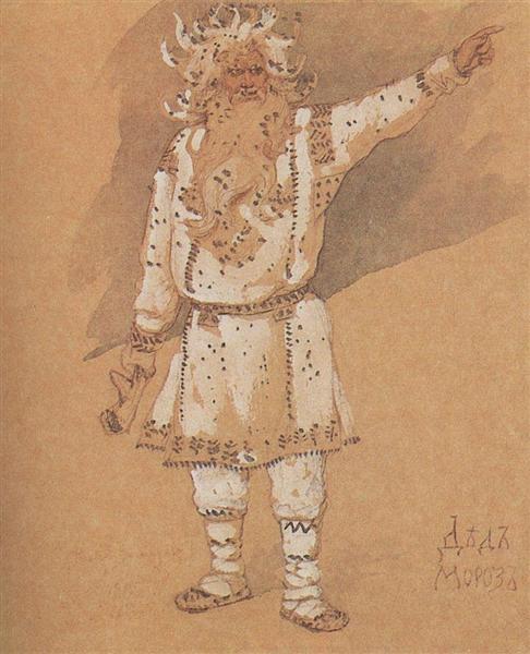 Ded Moroz, 1885 - Viktor Vasnetsov