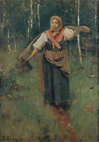 For water, 1880 - Viktor Vasnetsov