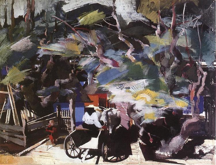 Homebound, 1937 - Vilmos Aba-Novak