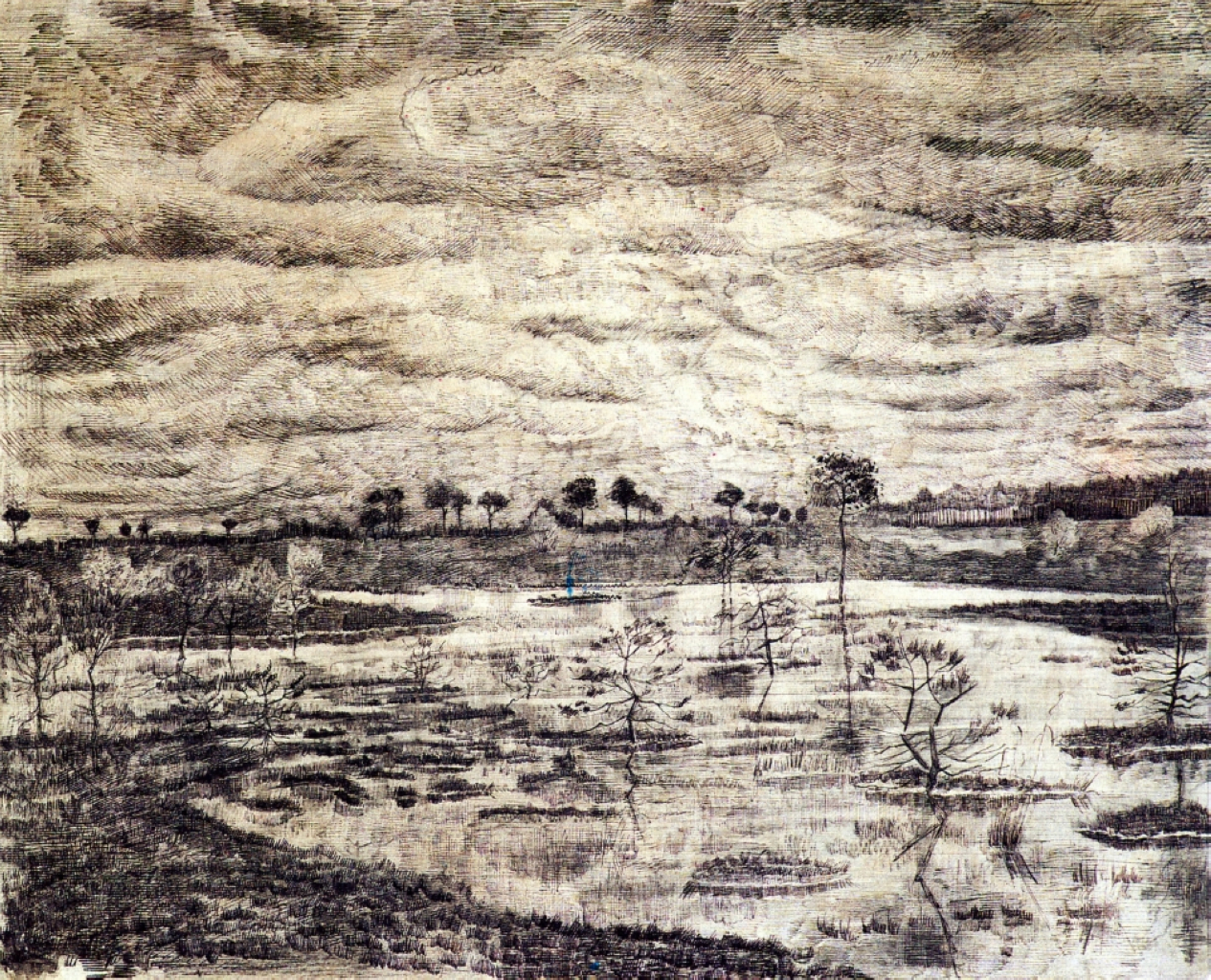 A Marsh 1881 Vincent Van Gogh Wikiart Org