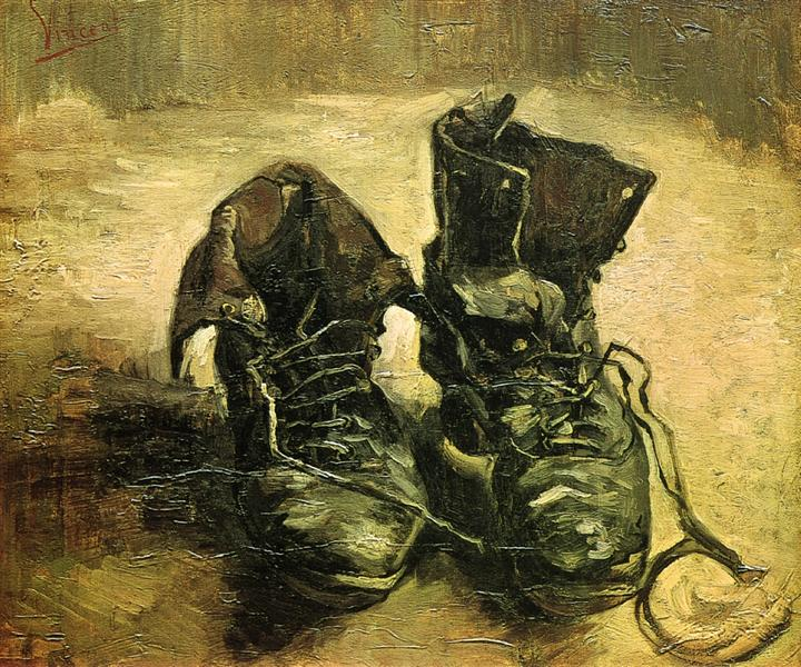 A Pair of Shoes, 1886 - Vincent van Gogh