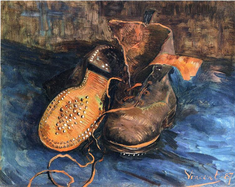 A Pair of Shoes, 1887 - Vincent van Gogh