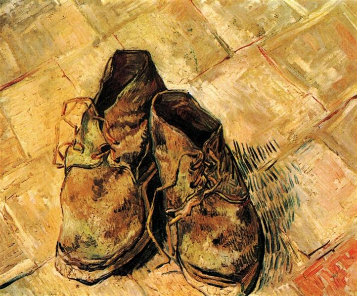A Pair of Shoes, 1888 - Vincent van Gogh
