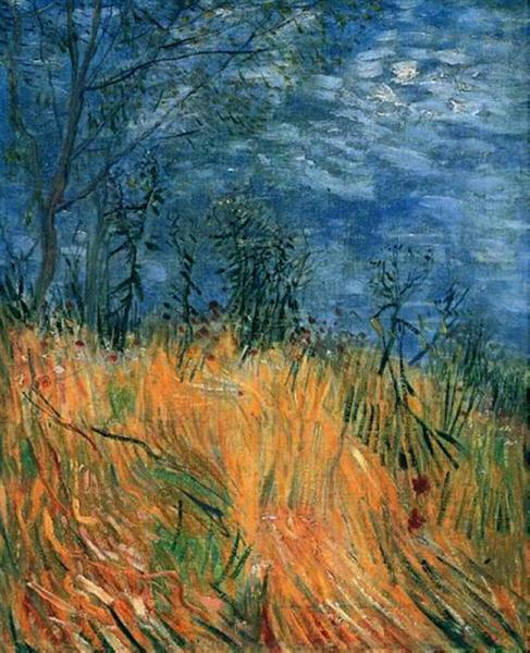 Edge of a Wheatfield with Poppies, 1887 - Vincent van Gogh