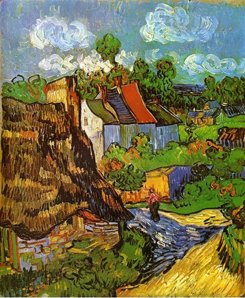Houses in Auvers 2, 1890 - Vincent van Gogh