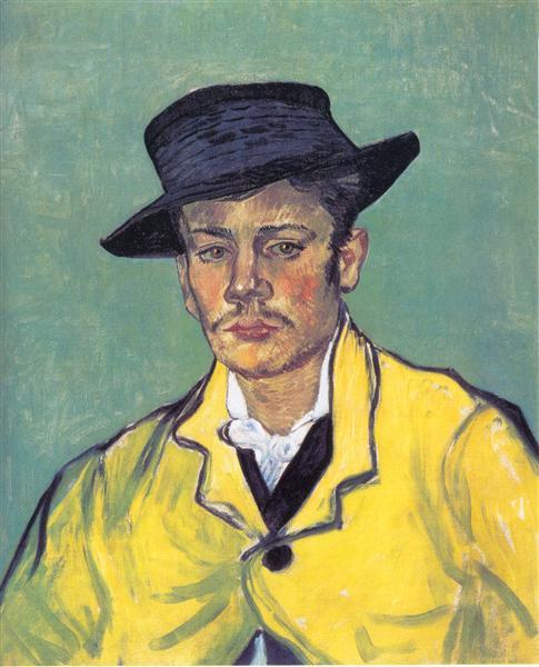 Portrait of Armand Roulin, 1888 - Vincent van Gogh