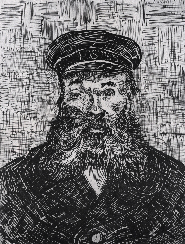 vincent van gogh the postman joseph étienne roulin 1889 museum