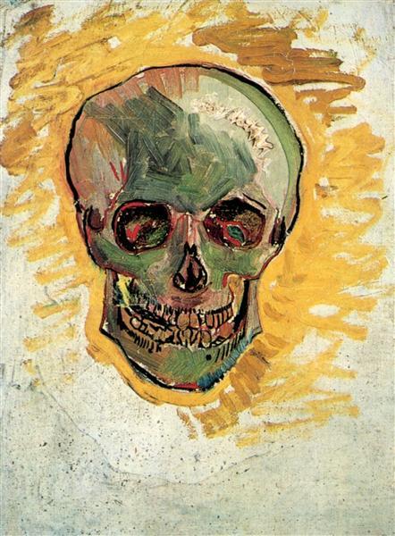 Skull, c.1887 - Vincent van Gogh